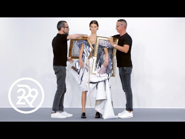 Fashion Is LITERALLY Art For Viktor Rolf | Fashion Films | Refinery29