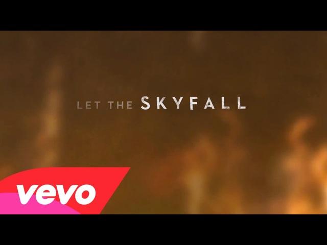 Adele - Skyfall (Lyric Video)