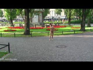 Agnes Nude in Public 1