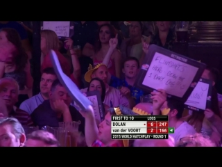 Brendan Dolan vs Vincent van der Voort (World Matchplay 2015 / Round 1)
