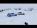 Финал. Борьба за первое место - Toyota Cresta vs Vaz 2102 Winter Drift 2015/16