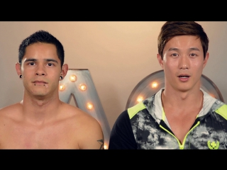 Andrew Christian - Getting Naked Challenge (Peter Le Vs. Steven Andrade)