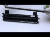 Заправка картриджа BROTHER TN 1075 принтера HL-1112R/ DCP-1512R/ MFC-1810R/ MFC-1815R инструкция