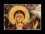 Θεοτόκε Παρθένε - Ψάλουν οι μοναχοί