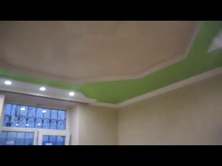 Монтаж подвесного потолка из гипсокартона + декор. г. Макеевка