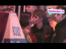 Exclusive! Justin Bieber Selena Gomez Everlasting Kiss @ Vanity Fair Oscar Party in WeHo!