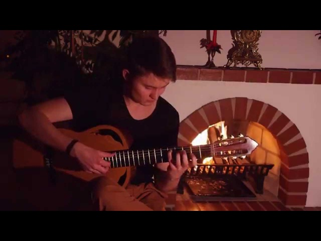 The Elder Scrolls V Skyrim Around the Fire Acoustic Guitar Cover