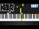 Linkin Park - Numb - EASY Piano Tutorial by PlutaX - Synthesia