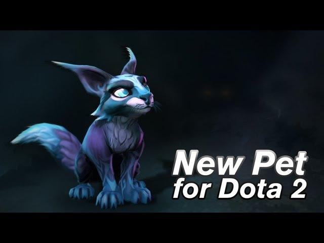 Blurr- The Phantom Cat - Dota 2 pet