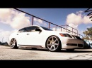 Lexus GS450h Hybrid on 20 Vossen VVS CV7 Concave Wheels Rims