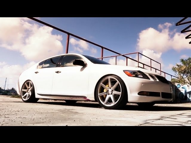 Lexus GS450h Hybrid on 20'' Vossen VVS-CV7 Concave Wheels | Rims