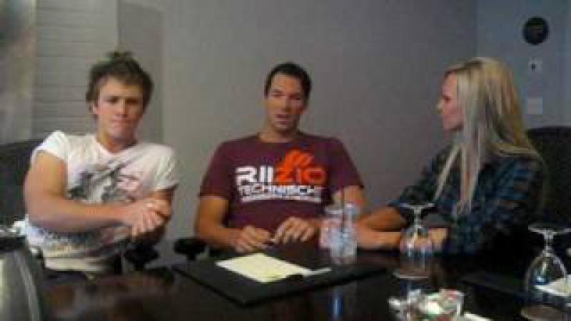 Kyle interviews New Moon stars Daniel Cudmore and Charles Bewley Part 1