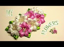 Цветы из Лент для Варвары Канзаши Мастер- Класс KANZASHI DIY