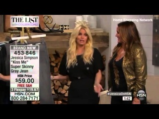 'Jessica Simpson is drunk on HSN right now. Is anyone else seeing this?' Stunned viewers slam US si