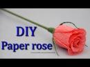 Роза. Букеты из конфет. DIY crepe paper rose.