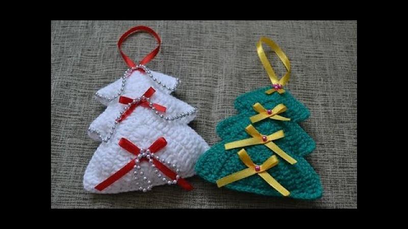 Новогоднее украшение Елочка (New year's decoration Christmas Tree)