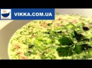 Окрошка на кефире с горчицей-рецепт-VIKKAvideo