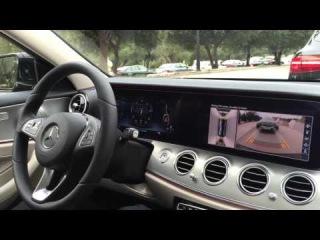 Mercedes-Benz Park Pilot in the new E-Class W213 / 2016 (English)