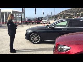 Remote Park Pilot in the new Mercedes E Class!