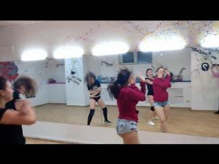Женские кривляния. TGT-Explode. Twerk and sexy choreo. JLT school