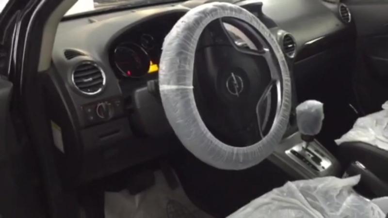 Opel Antara установка StarLine A94CAN беcключевой обход иммобилайзера Fortin EVO ALL