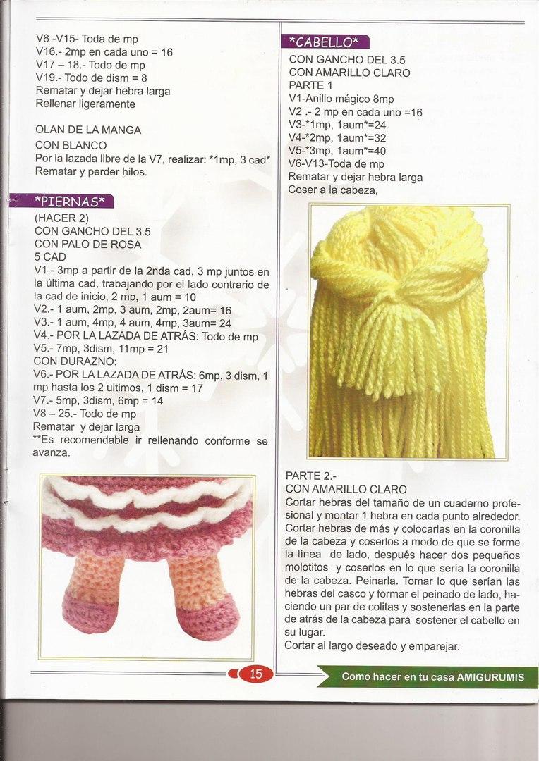 Muñeca al crochet ⋆ Crochet Kingdom
