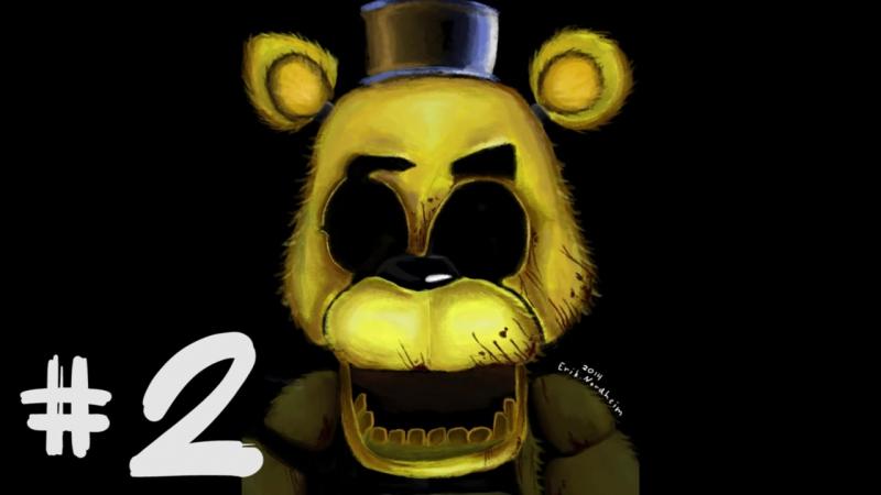 СТРАШНАЯ ИСТОРИЯ ГОЛДЕН ФРЕДДИ - ЖУТКИЕ теории и факты Five Nights at Freddys Golden Freddy
