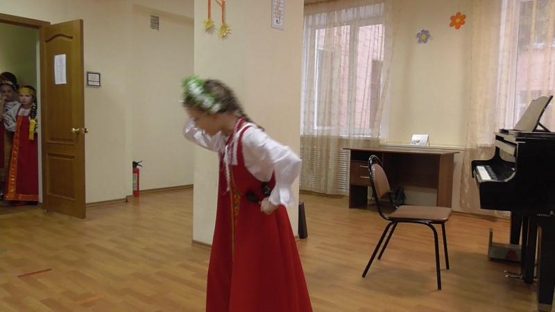 Аня Чевтаева Выступление 13.02.2016 на конкурсе КМО в ДХШ им. Свешникова