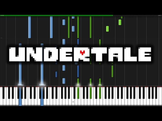 Undertale Main Theme Undertale Piano Tutorial Synthesia