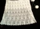 Вязание крючком ( летняя ажурная юбка )