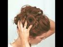 Прически на средние волосы видео Вечерние прически на средние волосы
