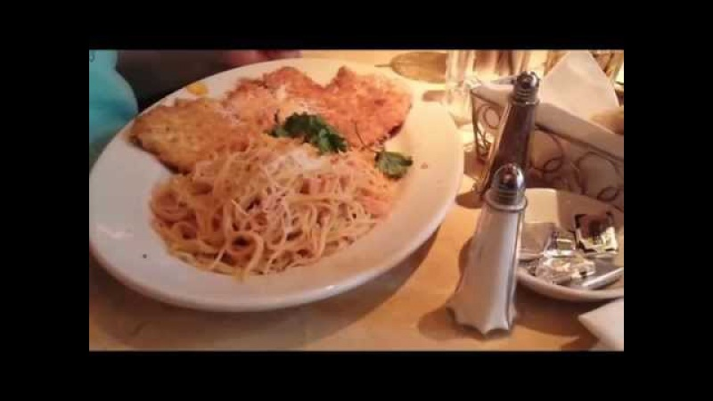 Обжираловка Американцы едят в ресторане огромные порции Ужас Чикаго