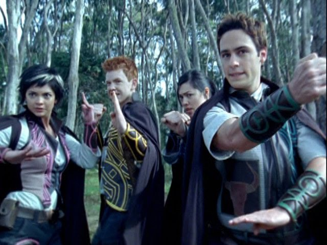Power Rangers Mystic Force - All Unmorphed Fights