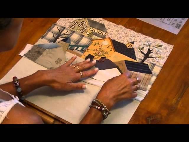 Quilt mystère YOKO SAITO bloc 5 11