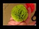 Цветы из ткани, фетра. Мастер-класс.