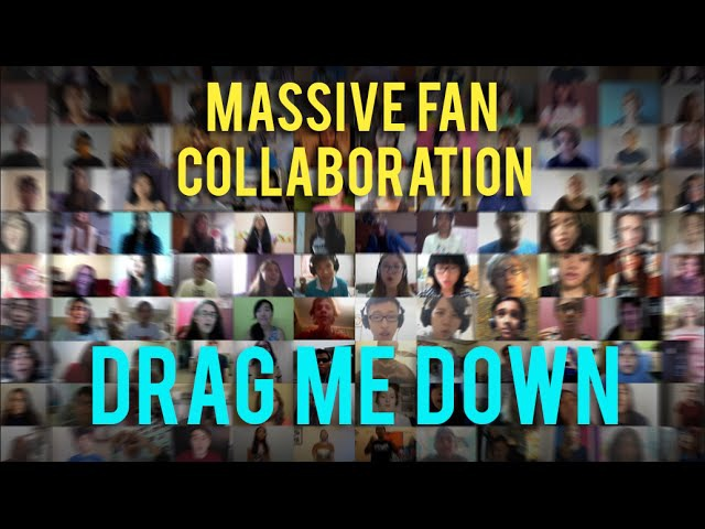 1000 people sing Drag Me Down by One Direction