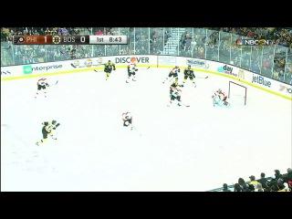 NHL. Philadelphia Flyers - Boston Bruins . 1 тайм.  НХЛ 15/16. Бостон - Филадельфия.21.10.15