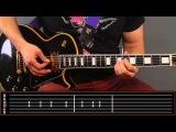 Deep Purple - Smoke on the water для новичков. Как играть вступление на гитареРазбор Урок Табы