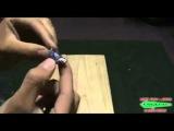Уловистая блесна из пивной крышки своими руками видео
