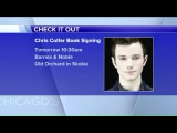 Chris Colfer goes from Glee to the Best Seller`s list with his new YA series
