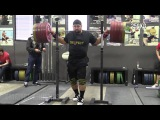Brian Wilhelm (105+) Works up to a 3RM Back Squat