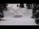 Sled Quebec extreme snowmobile deep powder