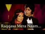 Raqqasa Mera Naam - Zeenat Aman - Amitabh - The Great Gambler - Hindi Item Songs - Belly Dancing