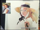 Expressive Watercolor Portraits by Janet Rogers - DVD Excerpt