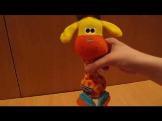 Видеообзор детская игрушка - Жираф-погремушка (kidtoy.in.ua)