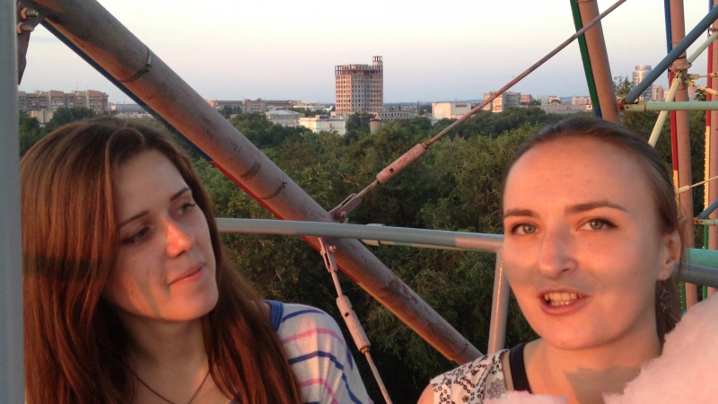 Виконька и Татьянушка мотивационное видео для ЛДШ 2015