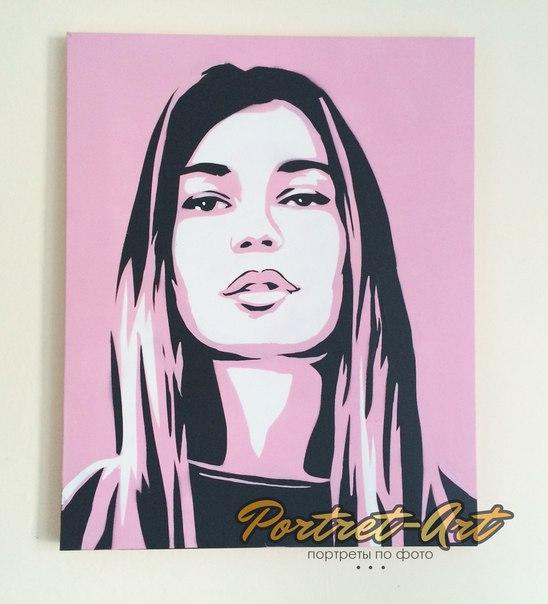 Поп-арт портреты как сделать