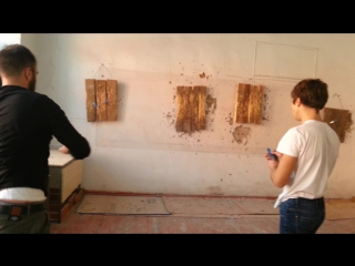 Тренировка по метанию ножей)))
