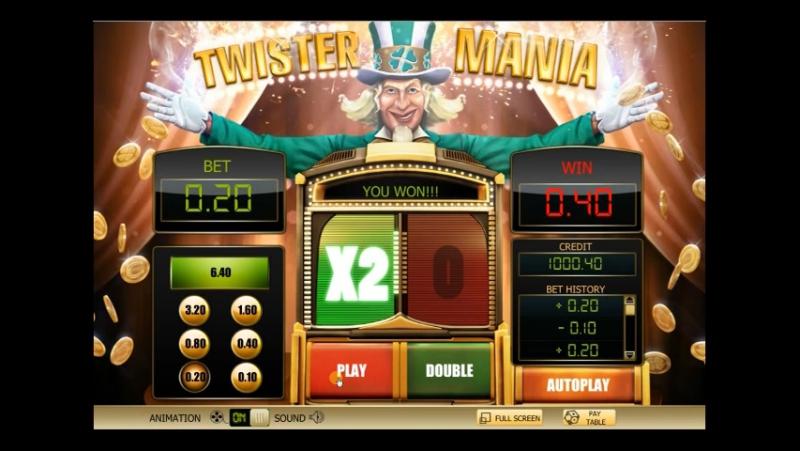 Игровой автомат Twister Mania (Твистер Мания) в казино Play Fortuna