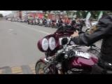 День города Вышний Волочёк.Выступление команды «Ночные волки» (г. Зеленоград, г. Тверь ) стандрайдинг (трюки на мотоциклах).